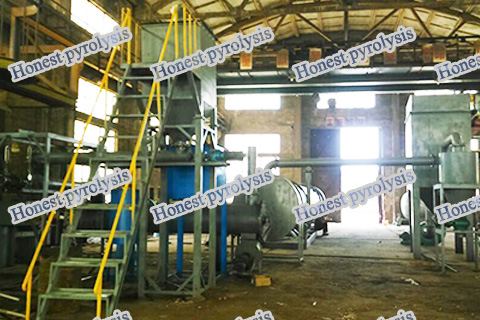 Carbon black granulation equipment